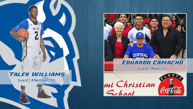 Men's Basketball Signs Camacho and Williams