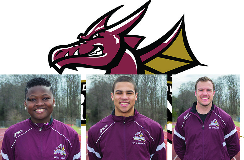 Dragons' Trio Has Earned USTFCCCA National Athlete of the Week Honors
