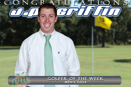 Griffin named PBC Golfer of the Week