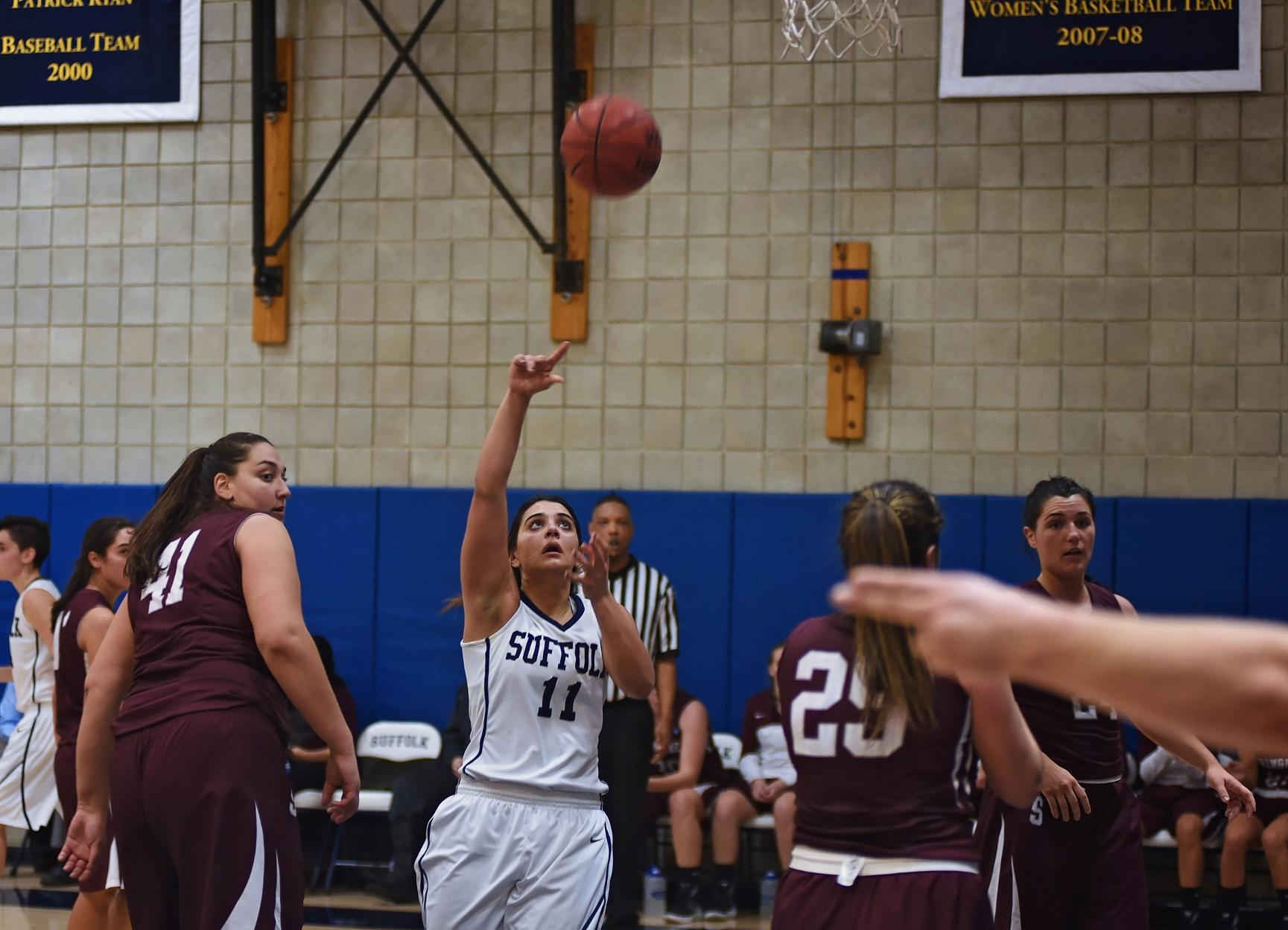 Comeback Falls Short for Women's Basketball at JWU
