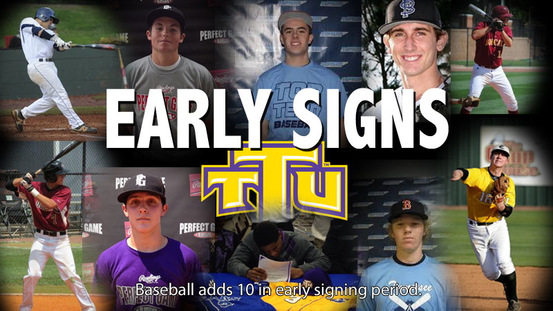 Golden Eagle baseball team announces first signees of 2015