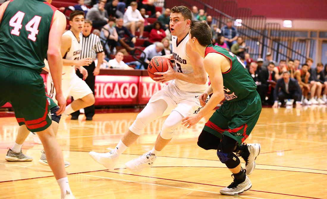 UChicago Men's Basketball Drops Season Finale at WashU, 81-63
