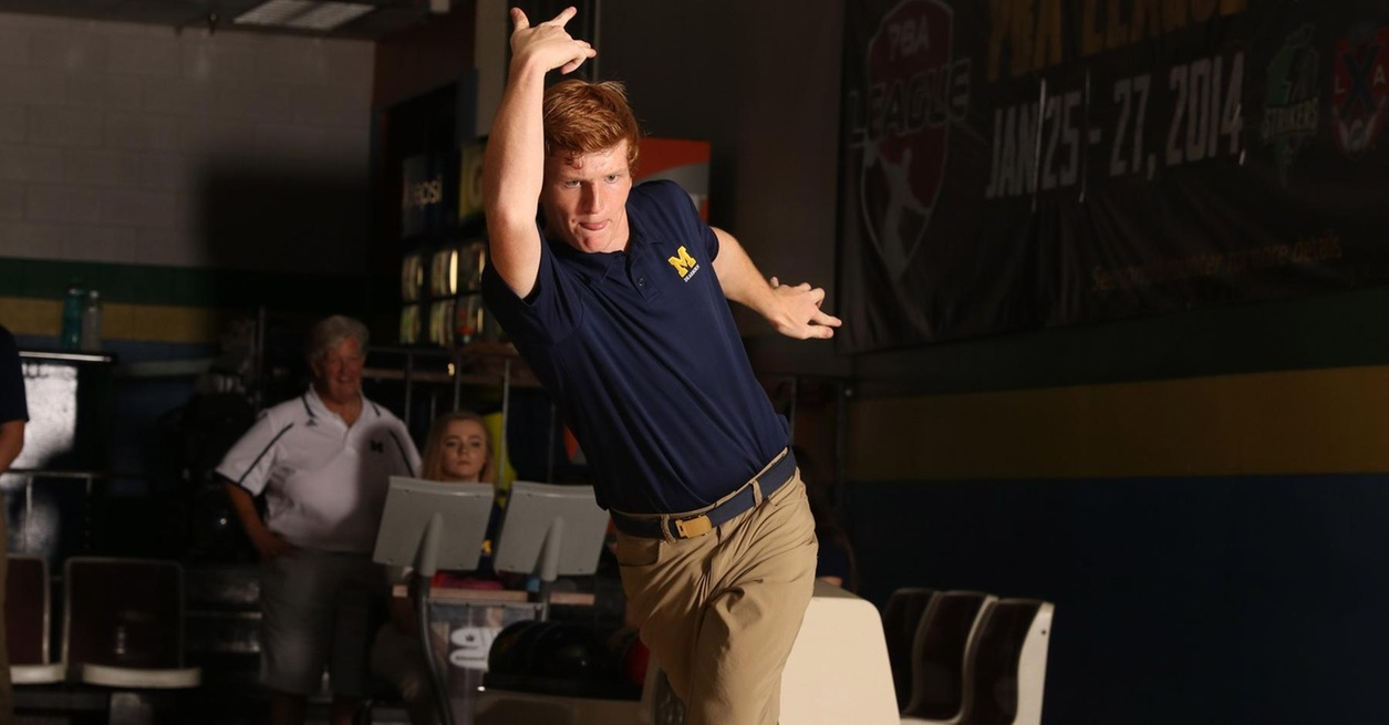 Wolverine bowling in action at WHAC Jamboree No. 3