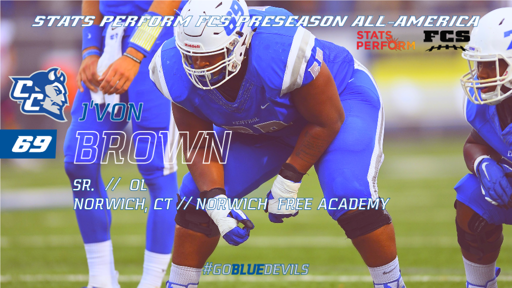 Stats Perform FCS Preseason All-America Teams Announced; Brown Recognized