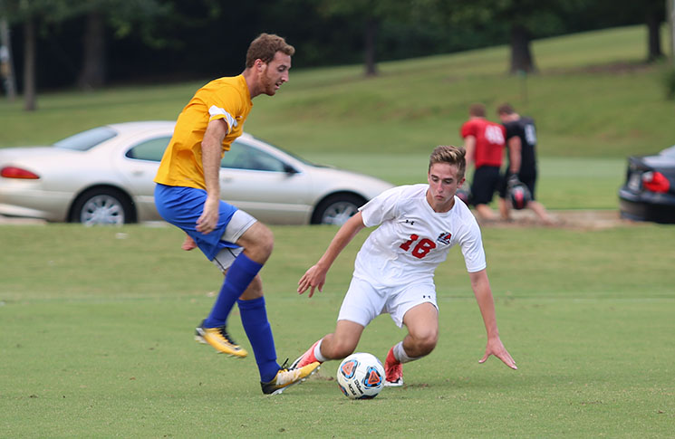 Men's Soccer: Trinity Baptist tops Panthers 3-1 in non-conference tilt