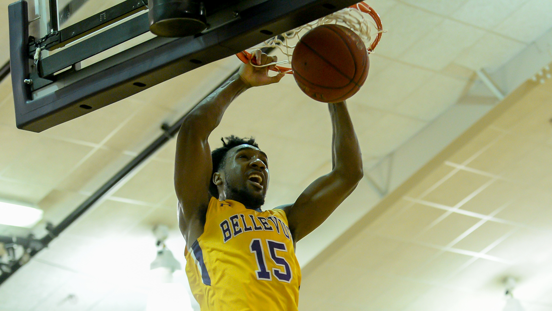 BJ Shelton led four Bruins in double figures with 21 points.