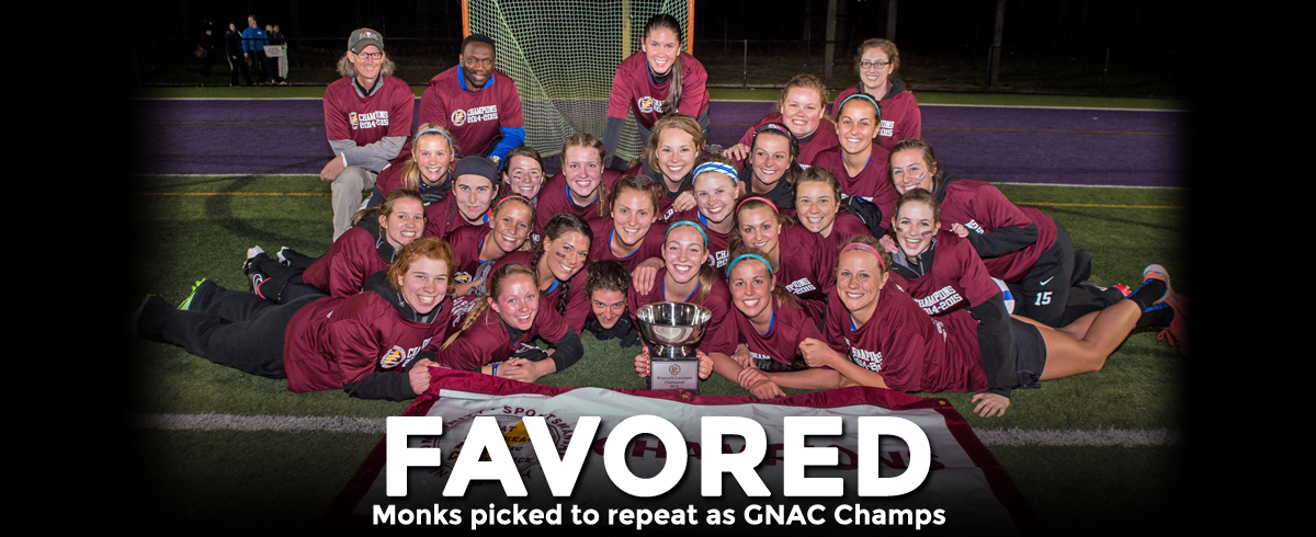 Monks Picked to Defend GNAC Championship