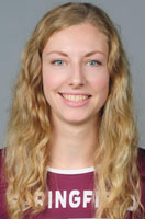 NEWVA Player of the Year Lauren Holt from Springfield College