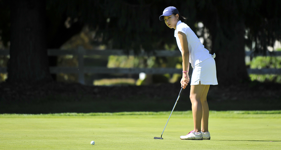 Golf Sits Fifth After Day One of the Jack Leaman Invitational