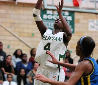 Que Lyles came off the bench to boost Felician with 16 points in a Feb. 6, 2014, win over Caldwell. (Steven R. Smith)