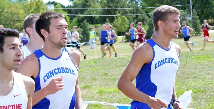 Coop, Lueck named all-conference, pace Men's Cross Country at NACC meet
