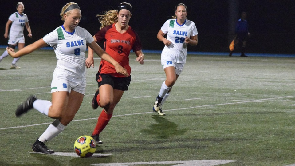 Salve Regina defeated Keene State for the first time in program history with a 2-0 victory on Thursday night.