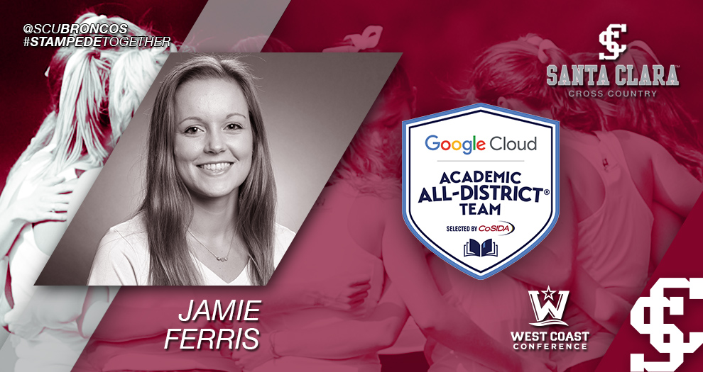 Ferris Named to CoSIDA Academic All-District Team