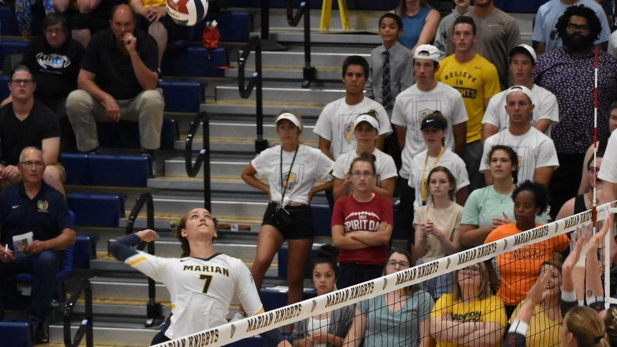 NAIA - Women's Volleyball - Player of the Week - Skyler Van Note - Marian (Ind.)