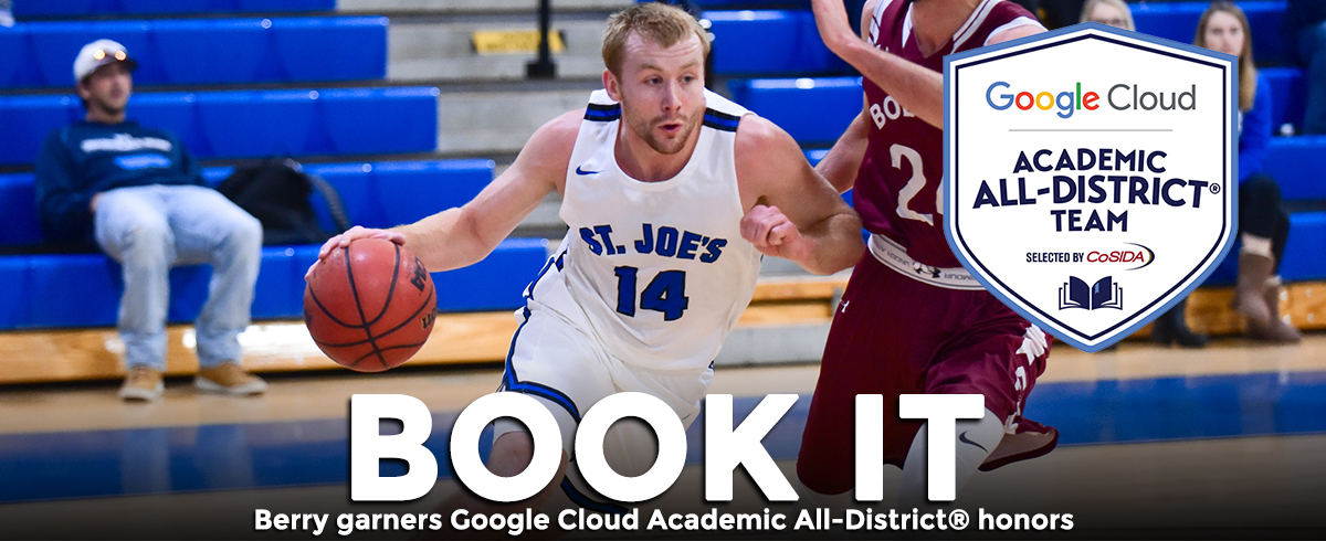 Berry Named Google Cloud Academic All-District®