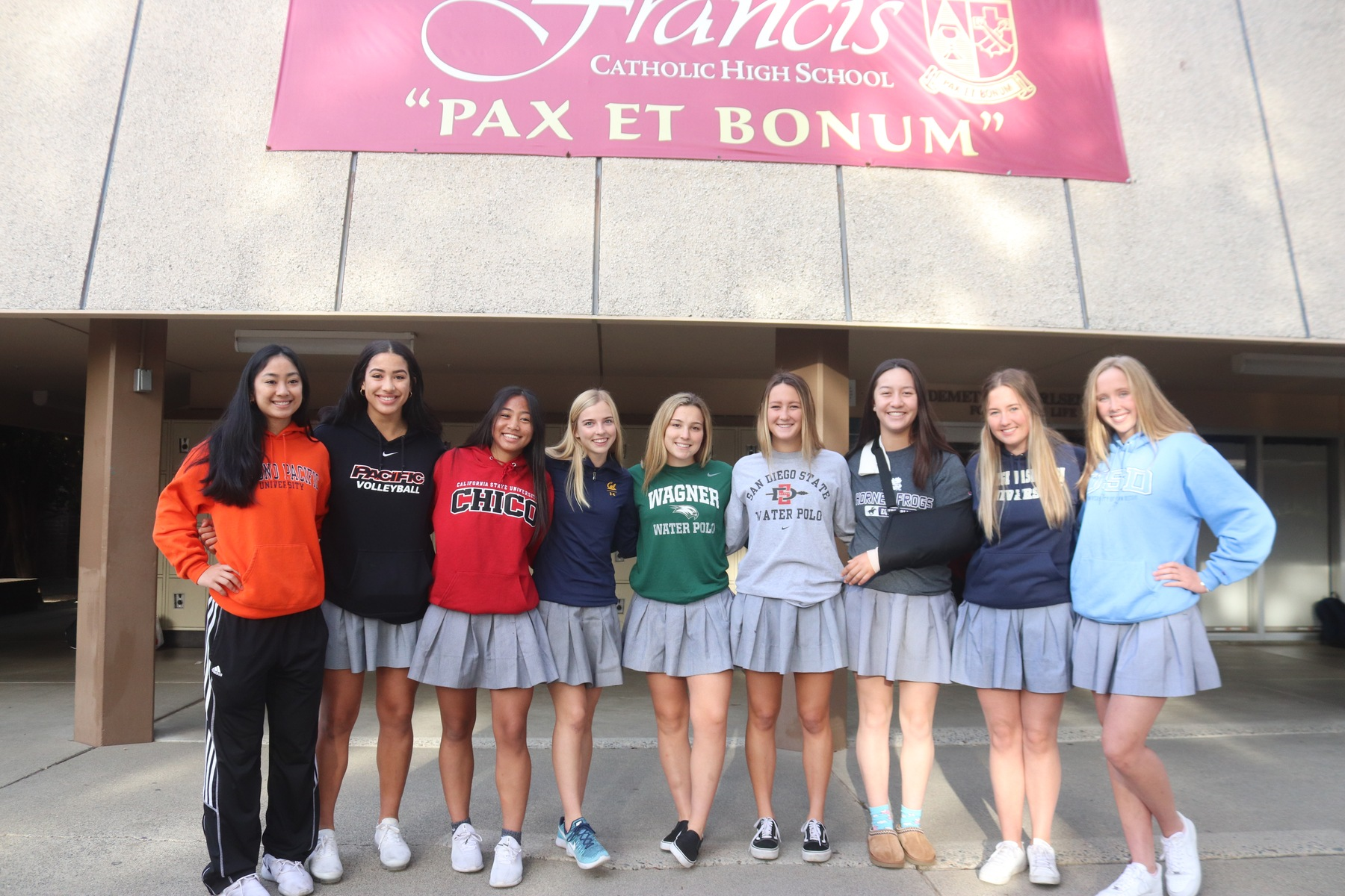 Nine St. Francis Seniors Sign on NCAA Signing Day