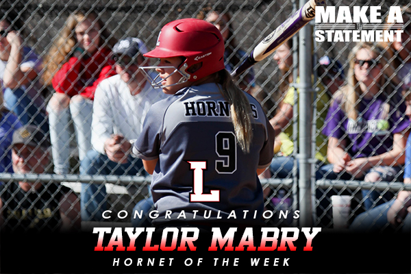 Hornet of the Week: Taylor Mabry (2/28-3/7)