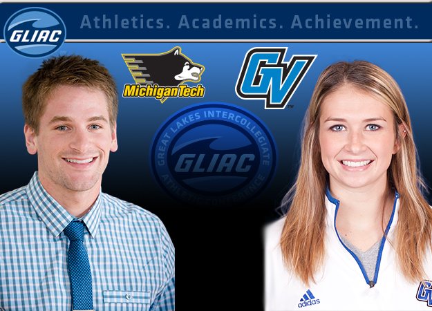 MTU's Austin Armga and GVSU's Kristen Hixson Named GLIAC Scholar-Athletes of the Year