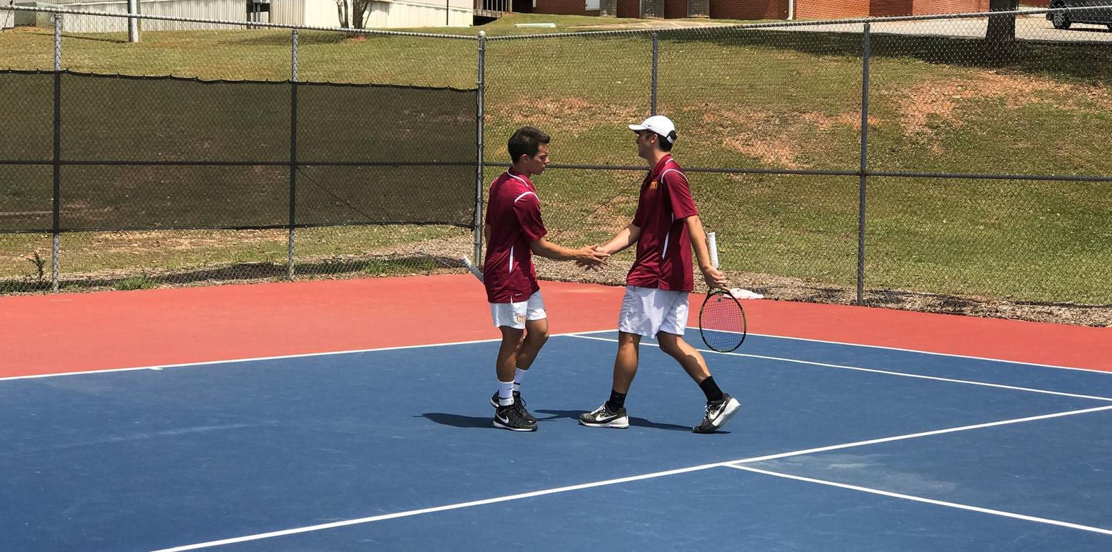 Lions Tennis Down Bobcats for Conference Win!