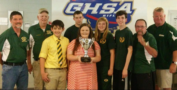 Ware Rifle Team Wins State Championship in Columbus