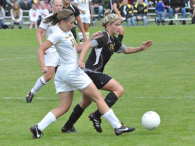 Ferris Soccer Scores Three Goals In Win