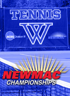 Wellesley Hosts NEWMAC Tennis Championships this Weekend