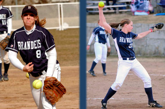Starters dominate as #21 softball sweeps Clark, 7-2 and 4-0