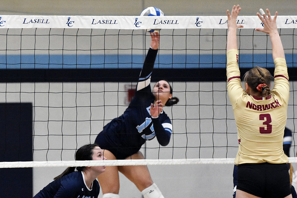 WVB: Lasell drops two conference matches against GNAC powerhouse Rivier and Norwich