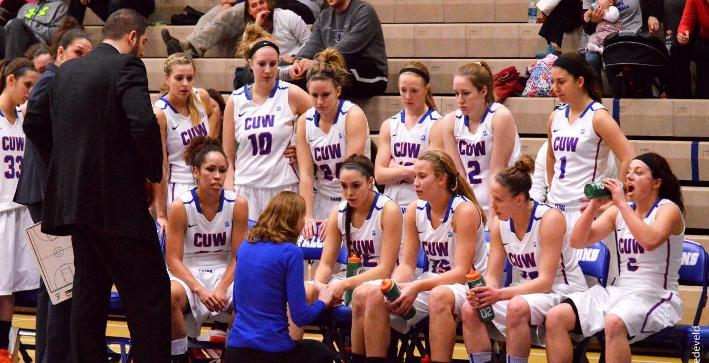 Women's Basketball scheduled to play Aurora in NACC Tournament game