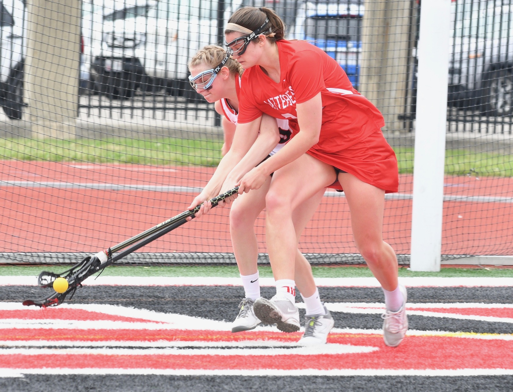 Senior Emily Wadds posted her fifth-straight hat trick performance in the Tigers' 25-6 loss at Denison