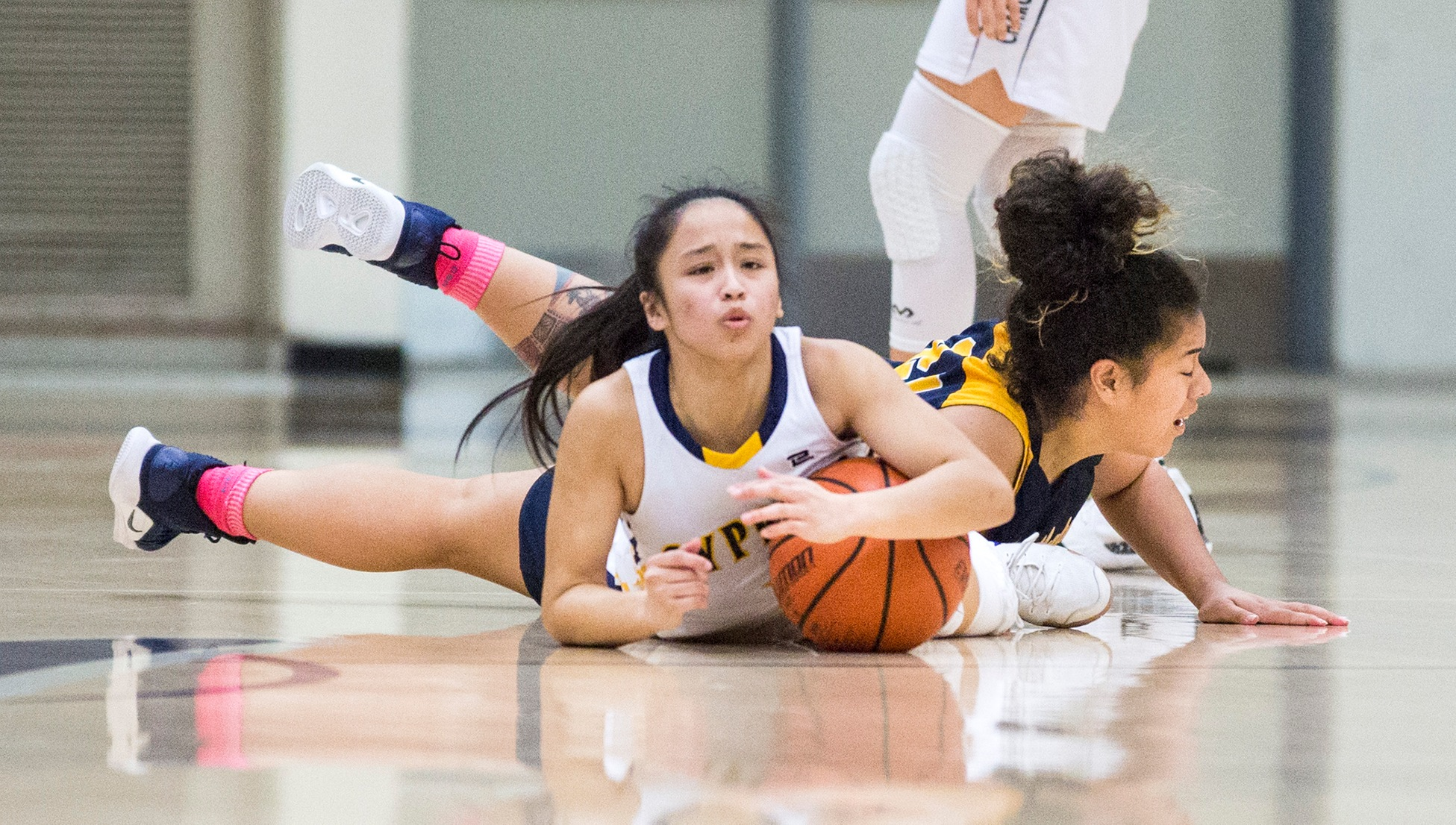 Lady Chargers Defeat Coast, 79-55; Set for Friday Showdown With Lasers for OEC Title