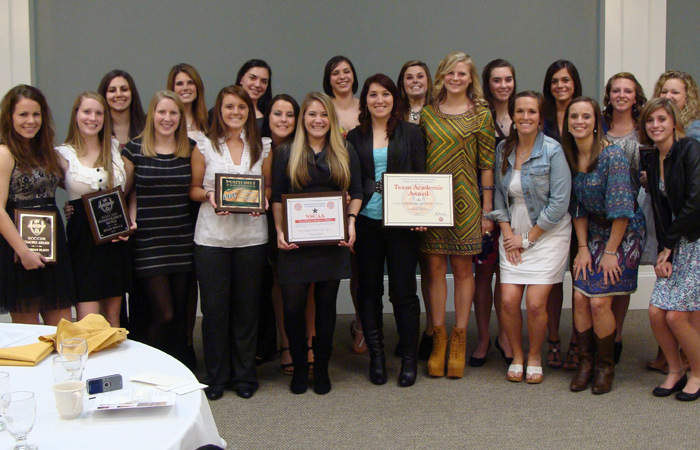 Women's Soccer Celebrates Accomplishments of 2011