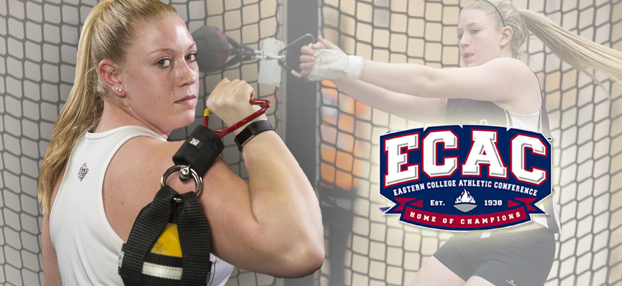 Markos Named ECAC New England Women's Field Athlete of the Week