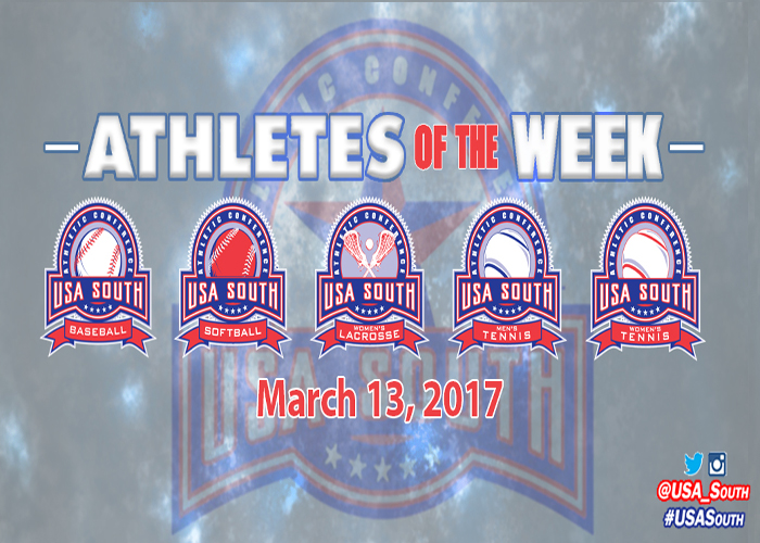 Catala and Hunt named USA South Athletes of the Week