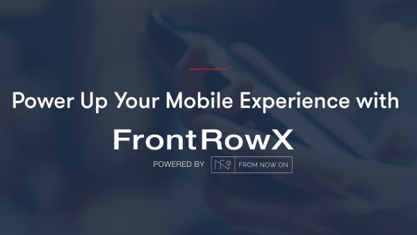 Learn about the next generation mobile app, FrontRowX from PrestoSports, powered by FromNowOn.