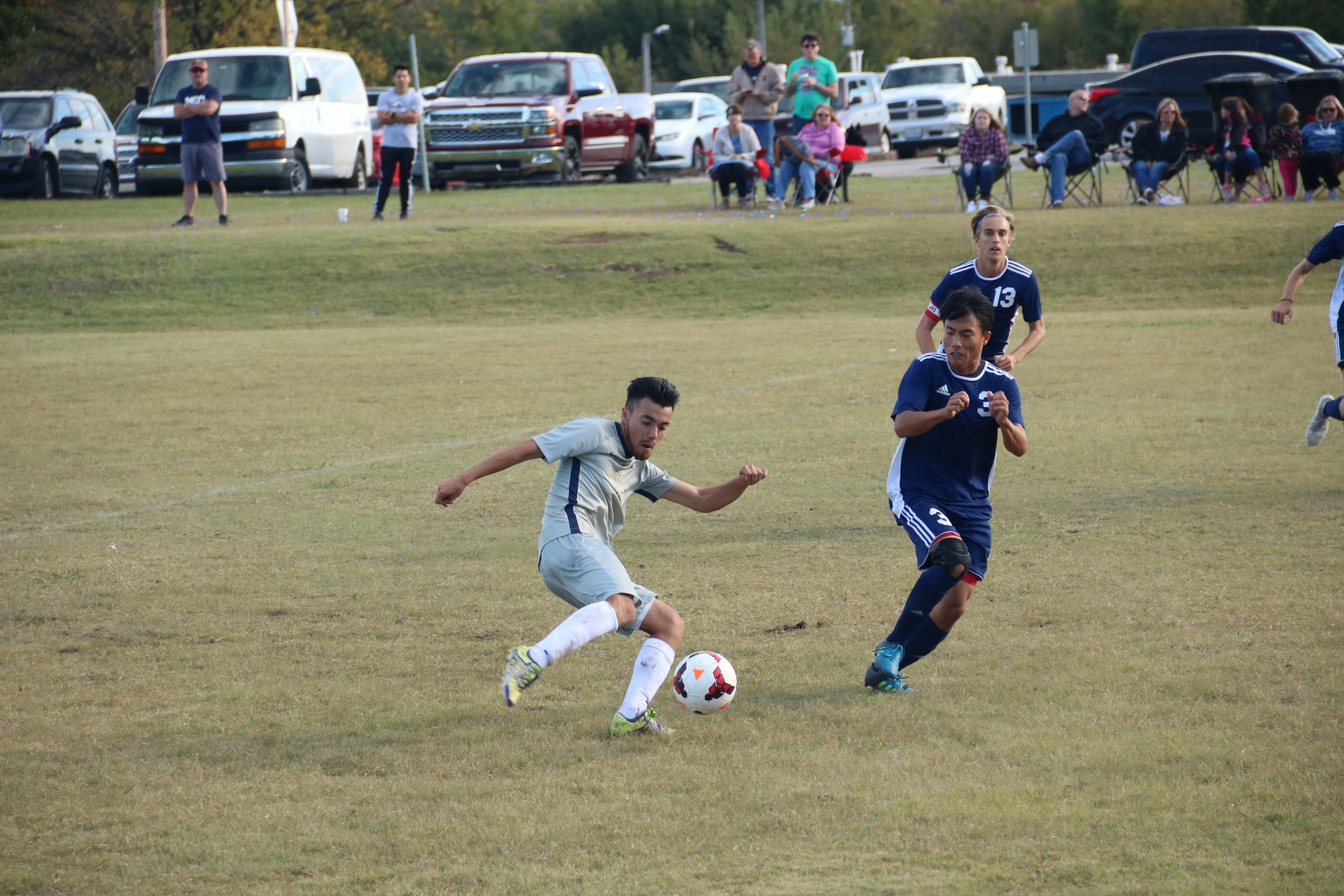Men's Soccer advances