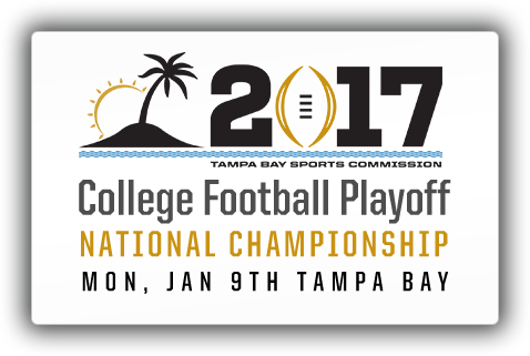 College Football Playoff on Mon 9 Jan, 2017 at Tampa Bay
