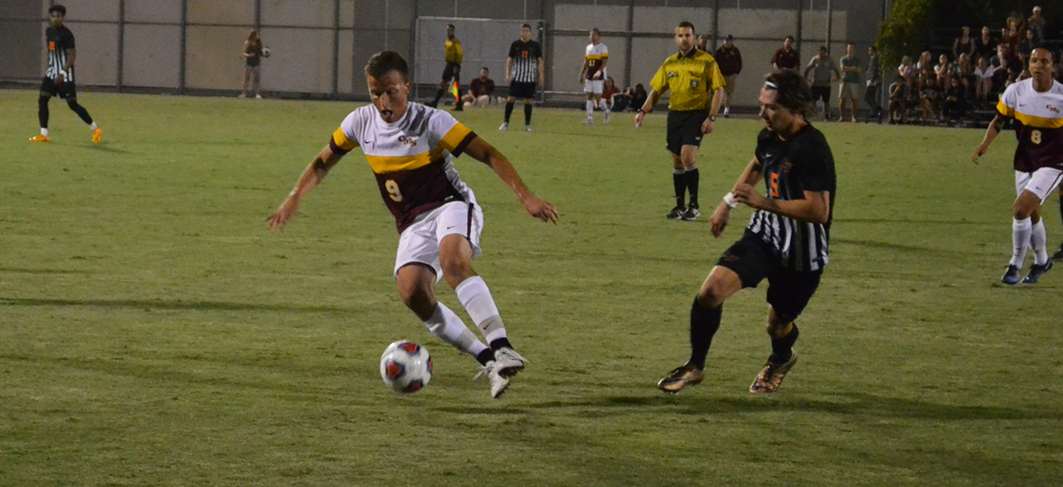 Second-Half Header Pushes Stags Past Leopards