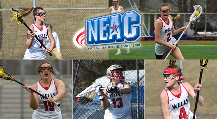Five From Women's Lacrosse Earn All-Conference