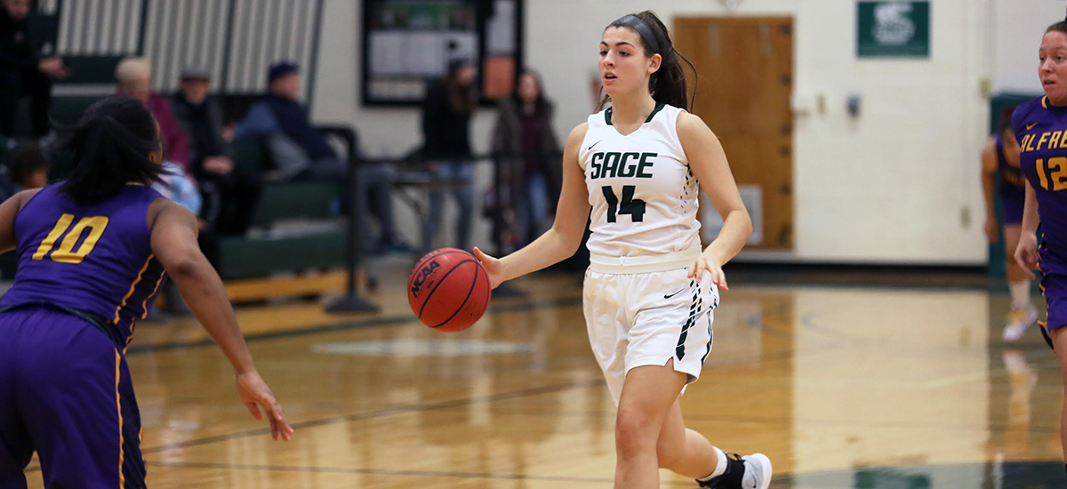 SJFC Tops Sage, 63-56 despite double-double from Pritchard