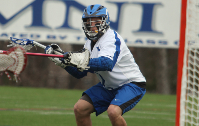 Men's Lacrosse Soars Past Emerson In Opener