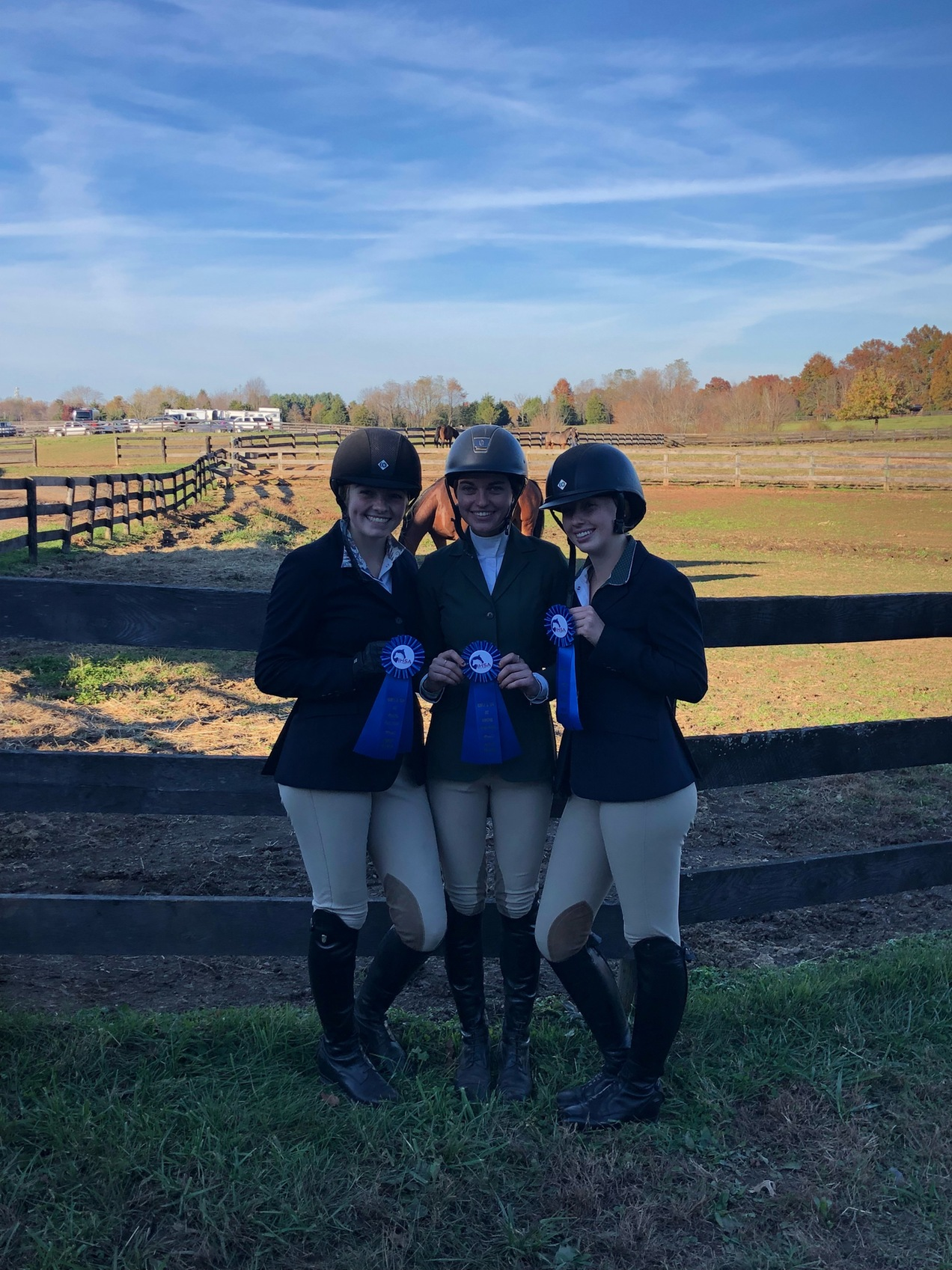 Equestrian Takes Victory at IHSA Show