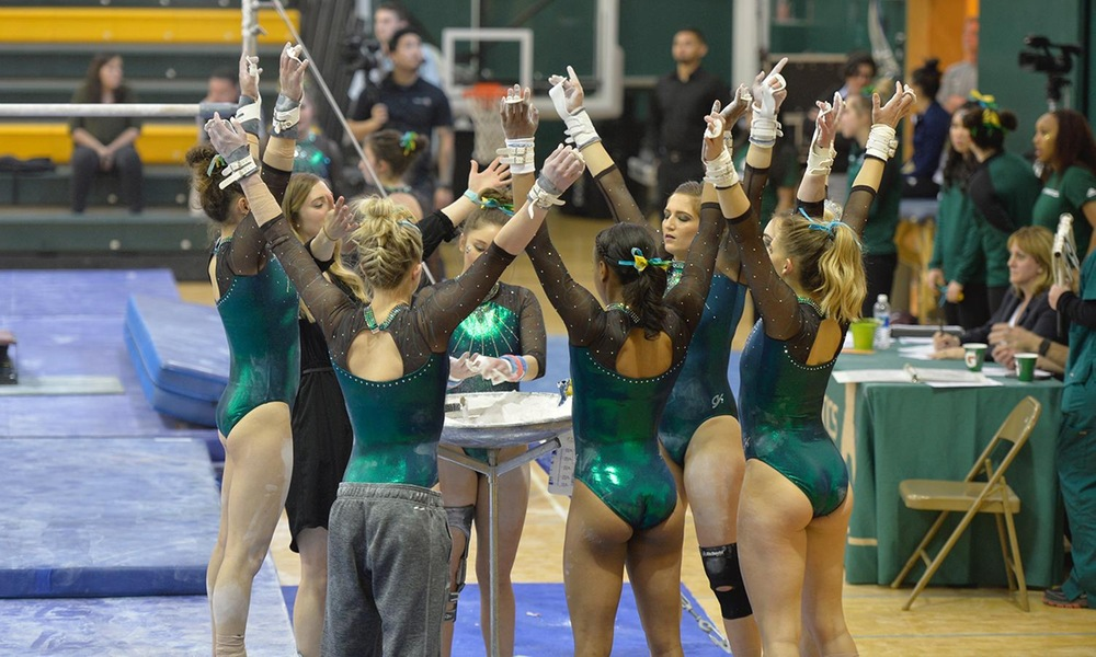 GYMNASTICS EYES CONFERENCE TITLE AT MPSF CHAMPIONSHIPS