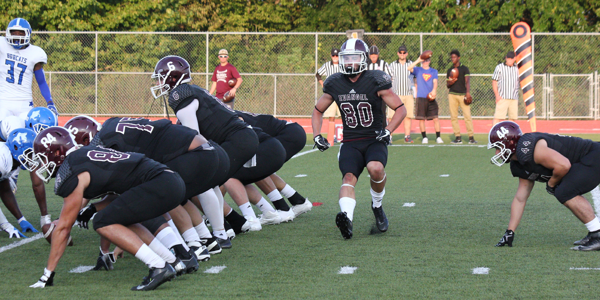 No. 23 Evangel Host No. 7 Baker in Conference Title Showdown Saturday