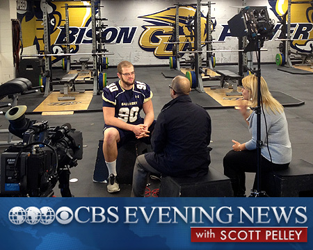 CBS Evening News to air feature on Gallaudet football on Sunday