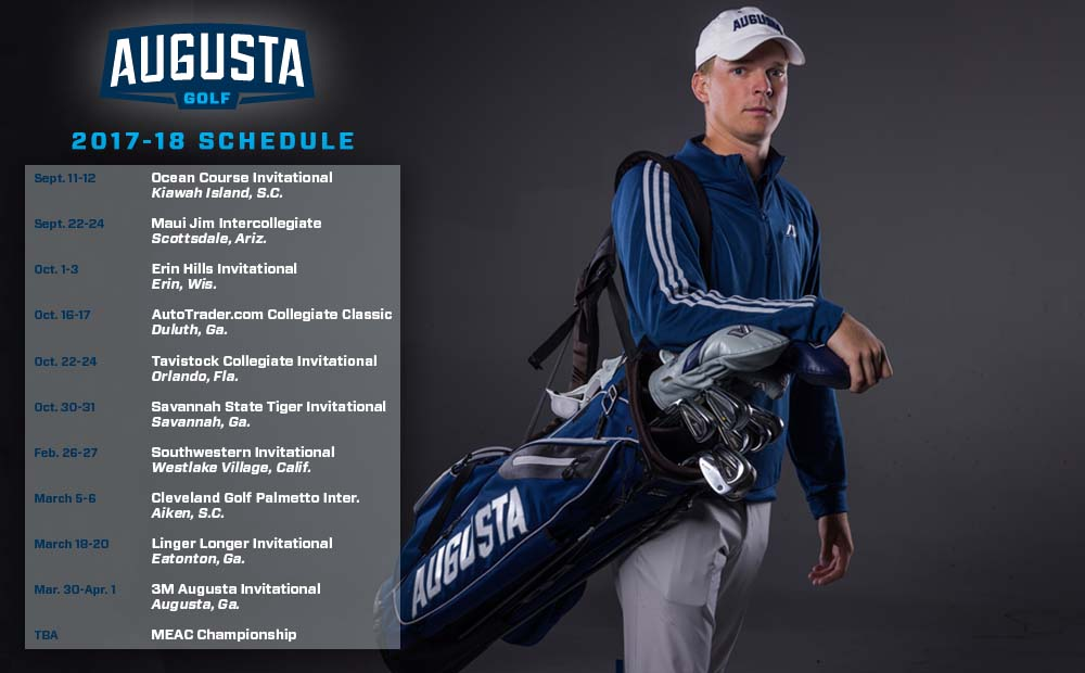 Head Coach Jack O'Keefe Announces 2017-18 Men's Golf Schedule