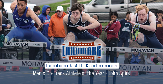 28 Greyhounds Earn Landmark All-Conference Track & Field Honors; Spirk Named Co-Track Athlete of the Year