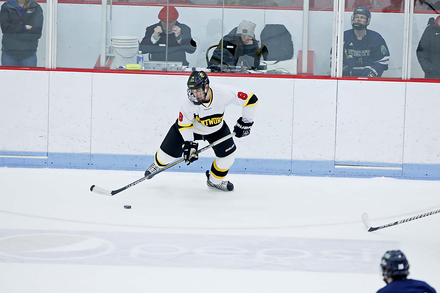Becker Uses Third Period Goal to Edge Hockey