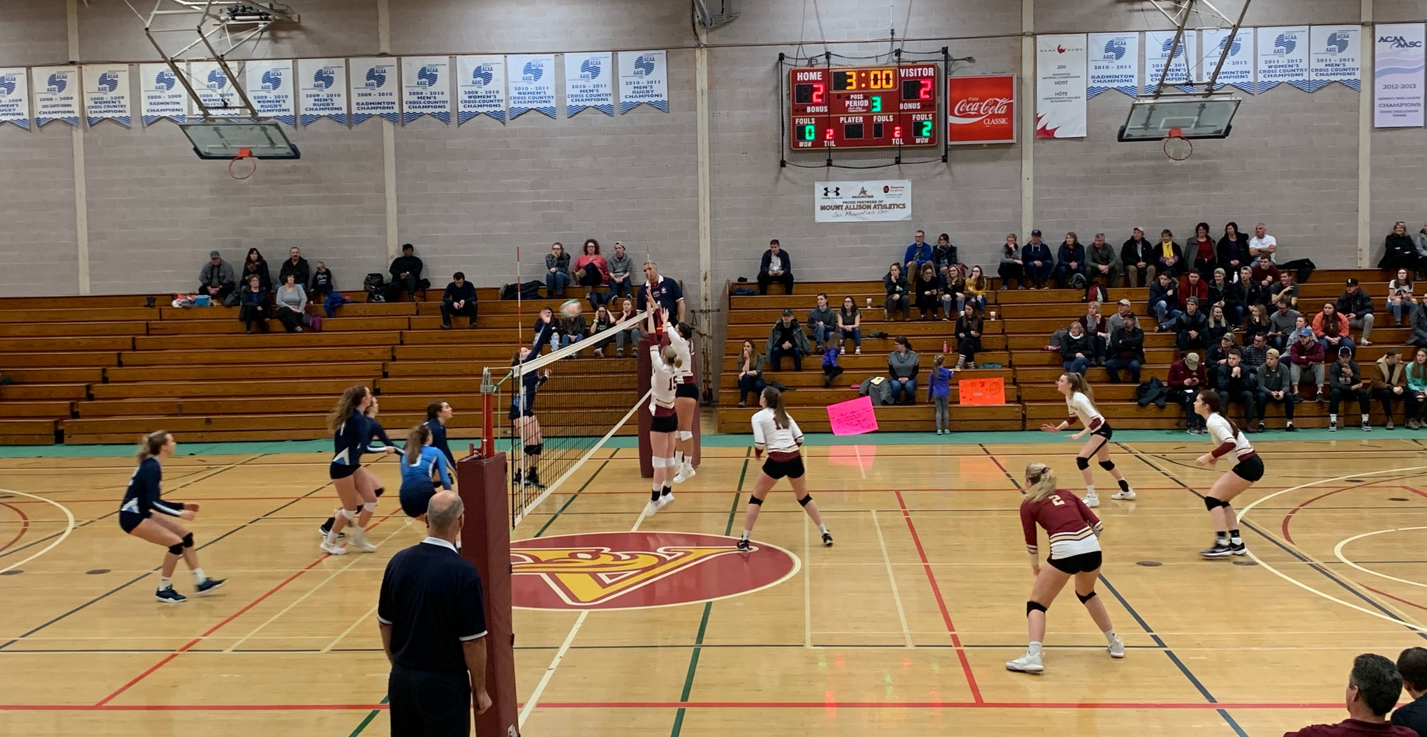 Mounties drop tough one to Mystics
