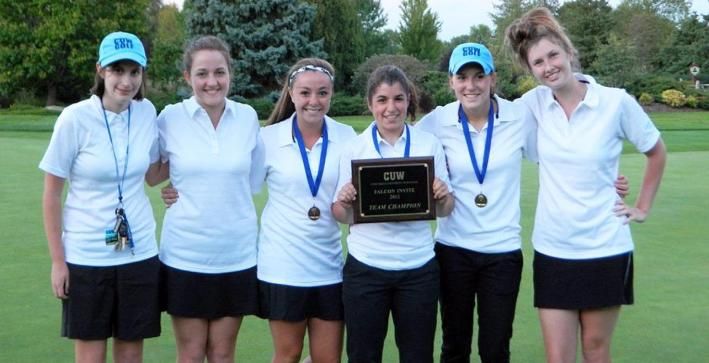 CUW women's golf team defeats WLC and Lakeland